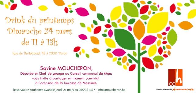 Invitation Savine Moucheron Ducasse de Messines 2013