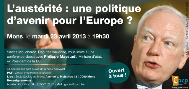 Conférence Philippe Maystadt,